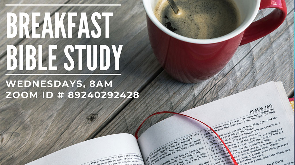 Breakfast Bible Study