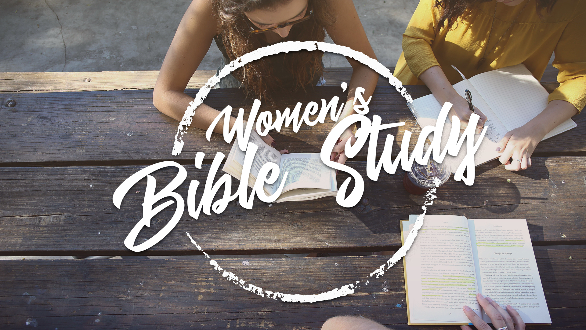 Women's Fall Evening Bible Study
